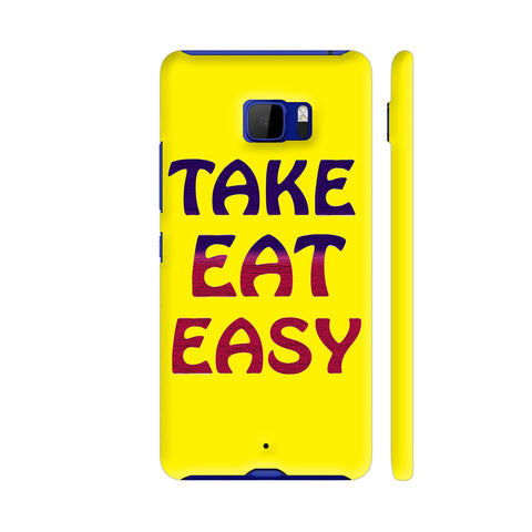 Take Eat Easy On Yellow HTC U Ultra Cover | Artist: Malls