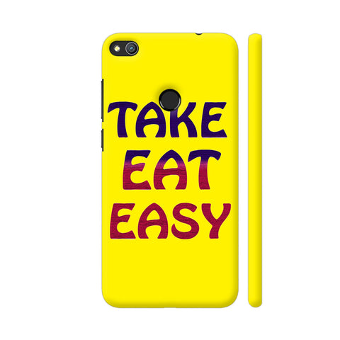 Take Eat Easy On Yellow Honor 8 Lite Cover | Artist: Malls