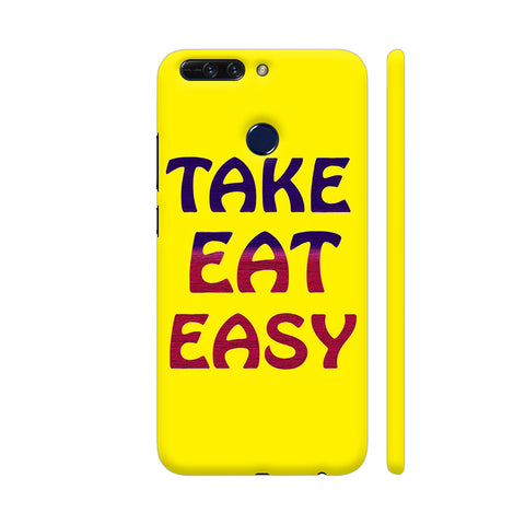 Take Eat Easy On Yellow Honor 8 Pro Cover | Artist: Malls