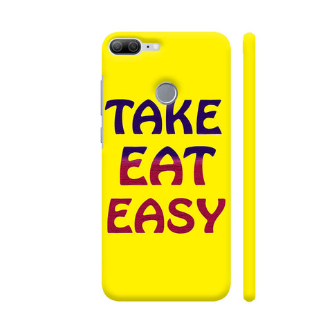 Take Eat Easy On Yellow Honor 9 Lite Cover | Artist: Malls