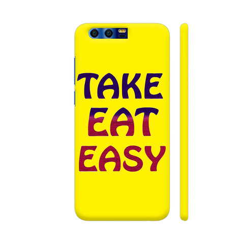 Take Eat Easy On Yellow Honor 9 Cover | Artist: Malls