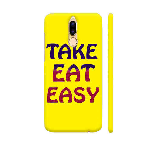 Take Eat Easy On Yellow Honor 9i Cover | Artist: Malls