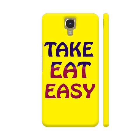 Take Eat Easy On Yellow Infinix Note 4 Cover | Artist: Malls