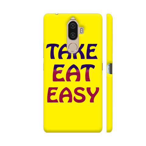 Take Eat Easy On Yellow Lenovo K8 Note Cover | Artist: Malls
