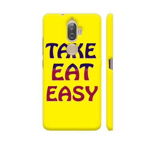 Take Eat Easy On Yellow Lenovo K8 Plus Cover | Artist: Malls
