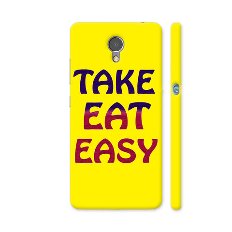 Take Eat Easy On Yellow Lenovo P2 Cover | Artist: Malls