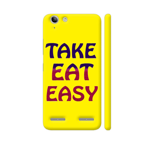 Take Eat Easy On Yellow Lenovo Vibe K5 / K5 Plus Cover | Artist: Malls