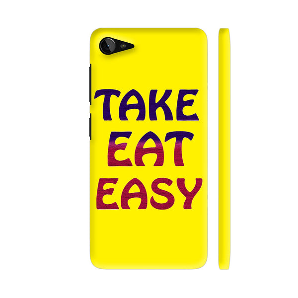 Take Eat Easy On Yellow Lenovo Z2 Plus Cover | Artist: Malls