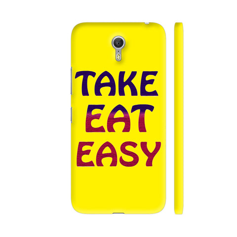 Take Eat Easy On Yellow Lenovo Zuk Z1 Cover | Artist: Malls