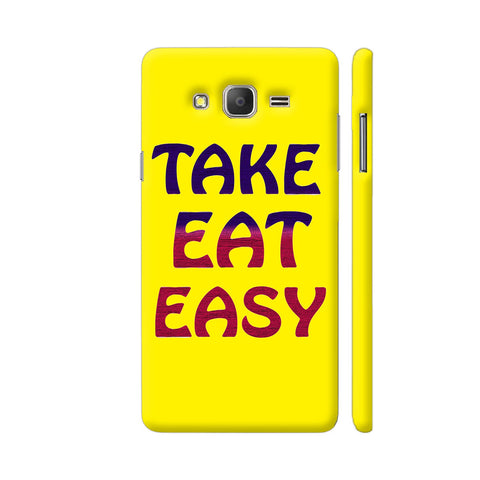 Take Eat Easy On Yellow Samsung J7 Nxt Cover | Artist: Malls