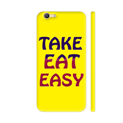 Take Eat Easy On Yellow Vivo Y66 Cover | Artist: Malls