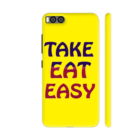 Take Eat Easy On Yellow Xiaomi Mi 6 Cover | Artist: Malls