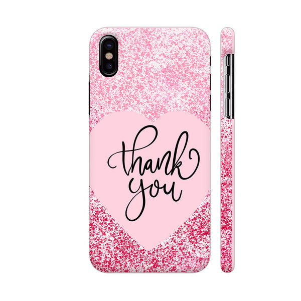 Thank You 2 iPhone X Cover | Artist: Avani