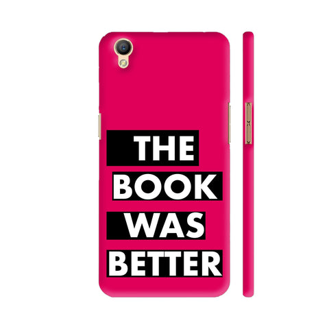 The Book Was Better On Pink Oppo A37 Cover | Artist: Nehal
