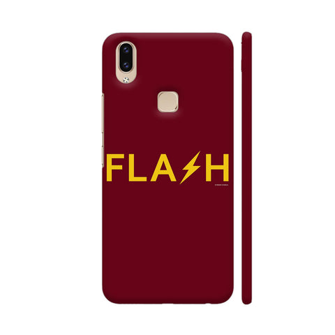 The Flash On Red Vivo V9 Cover | Artist: Manik Chawla