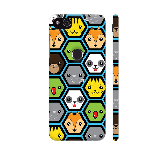 The Jungle Crew Honeycomb Google Pixel 3 Cover | Artist: Ninad Gawde