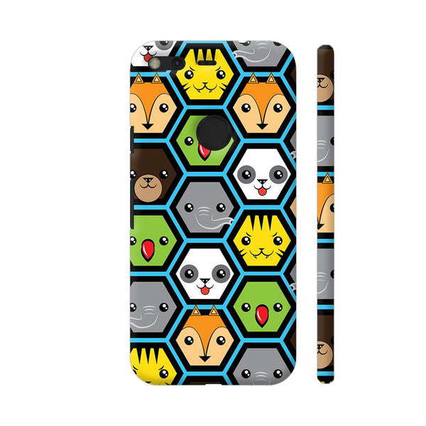The Jungle Crew Honeycomb Google Pixel XL Cover | Artist: Ninad Gawde
