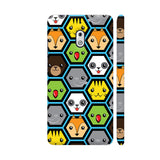 The Jungle Crew Honeycomb Nokia 2.1 Cover | Artist: Ninad Gawde