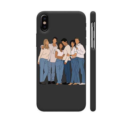 The One With The Cover iPhone X Cover | Artist: Photokidkiran