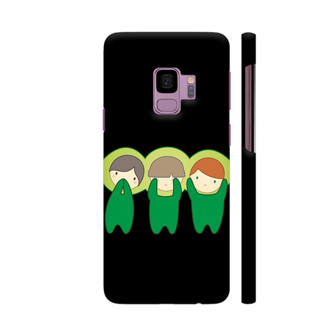 The Three Wise Peas Samsung S9 Cover | Artist: Crimson 15