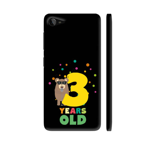 Three Years Third Birthday Party Grizzly Lenovo Z2 Plus Cover | Artist: Torben