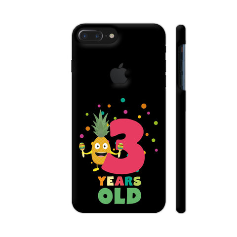 Three Years Third Birthday Party Pineapple iPhone 7 Plus Logo Cut Cover | Artist: Torben