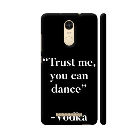 Trust Me Vodka Redmi Note 3 Cover | Artist: Nehal