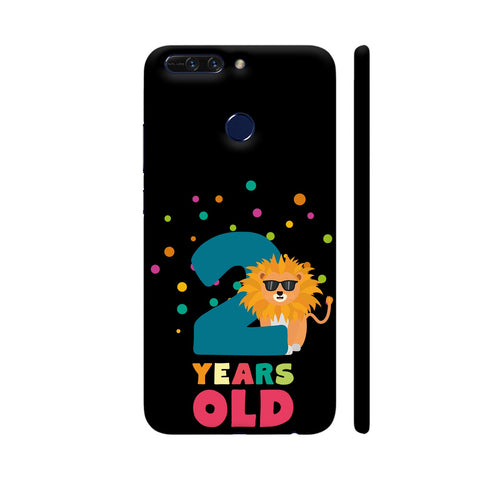 Two Years Second Birthday Party Lion Honor 8 Pro Cover | Artist: Torben