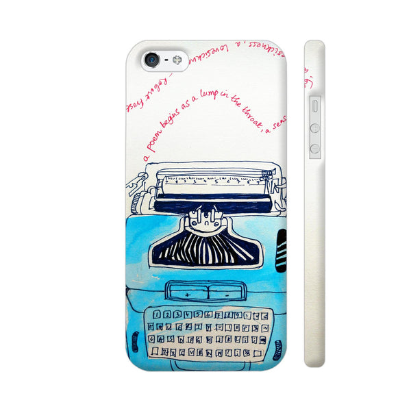 Typewriter iPhone SE Cover | Artist: PoloGeeBee