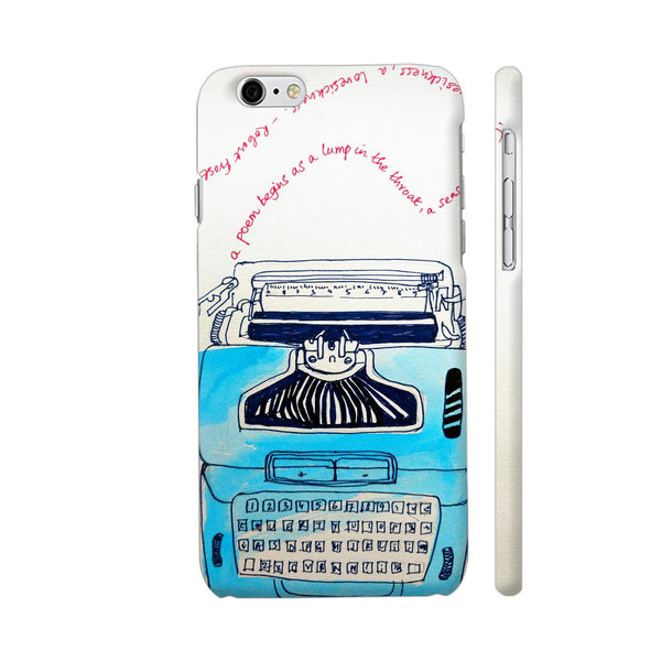 Typewriter iPhone 6 / 6s Cover | Artist: PoloGeeBee