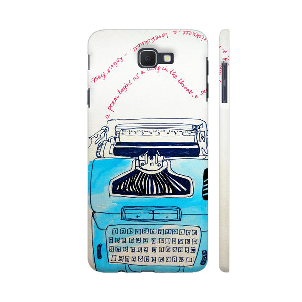 Typewriter Samsung On Nxt Cover | Artist: PoloGeeBee