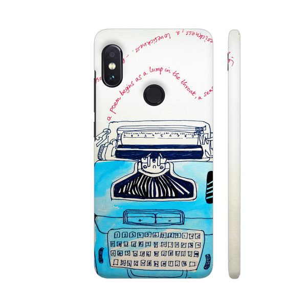 Typewriter Redmi Note 5 Pro Cover | Artist: PoloGeeBee