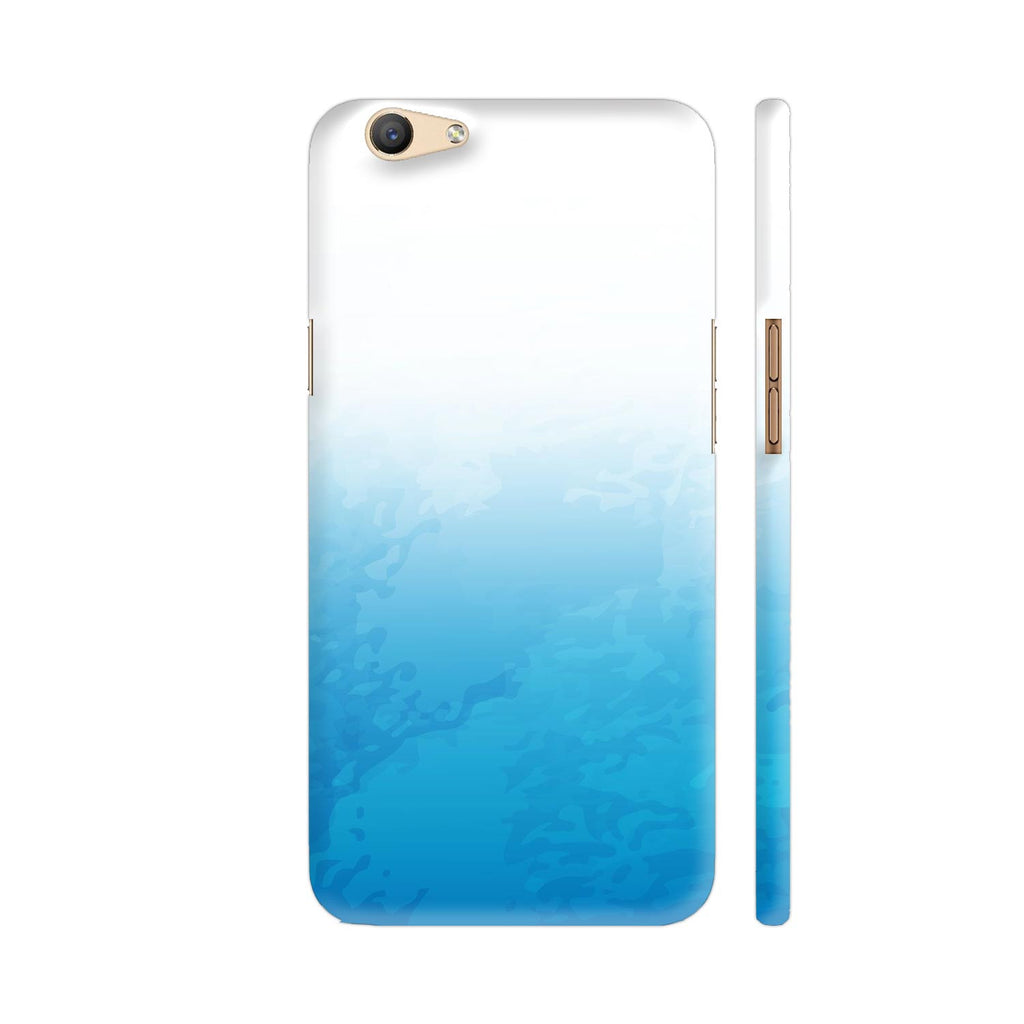 wholesale dealer 65b1f d48ee Water Color Blue Oppo F1s Cover | Artist: Astha