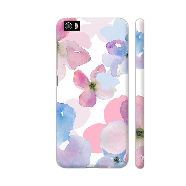 Watercolor Florals On White Xiaomi Mi 5 Cover | Artist: VSeraphim