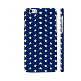 White Stars On Blue iPhone 6 / 6s Cover | Artist: Abhinav