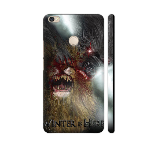 Winter Is Here Wolf Xiaomi Mi Max Case