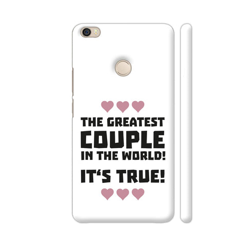 Worlds Greatest Couple Typography Xiaomi Mi Max Case