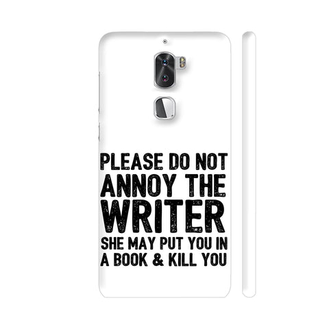 Writer Will Kill You Coolpad Cool 1 / Cool1 Dual Cover | Artist: Nehal