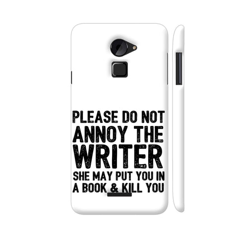 Writer Will Kill You Coolpad Note 3 Lite Cover | Artist: Nehal