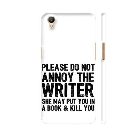 Writer Will Kill You Oppo A37 Cover | Artist: Nehal