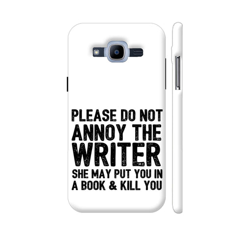Writer Will Kill You Samsung Galaxy J2 (2016) Cover | Artist: Nehal