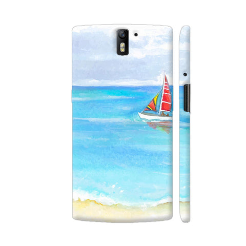 Yacht Illustration OnePlus One Case