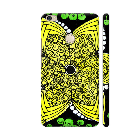 Yellow Flower Zentangle Xiaomi Mi Max Case