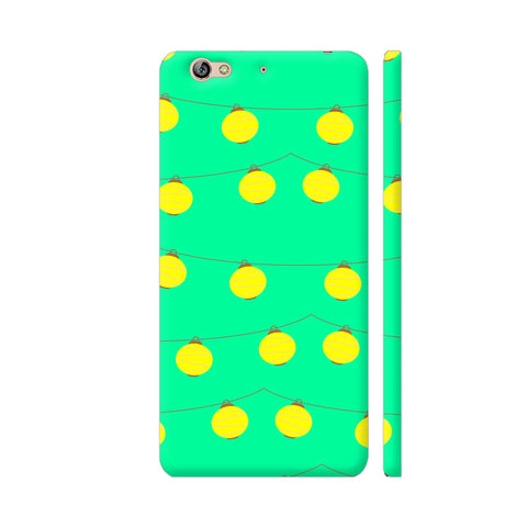 Yellow Lights Pattern Gionee S6 Cover | Artist: Malls
