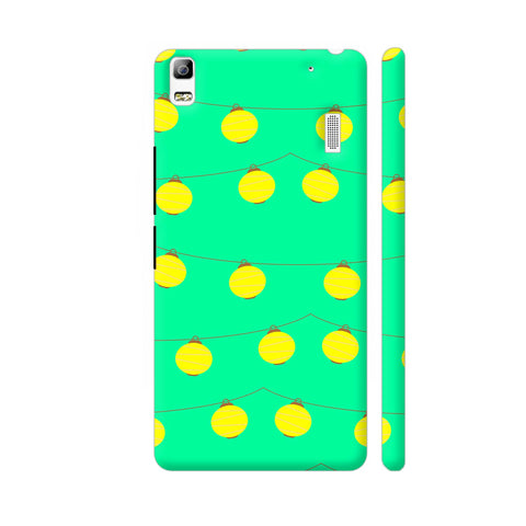 Yellow Lights Pattern Lenovo A7000 Cover | Artist: Malls
