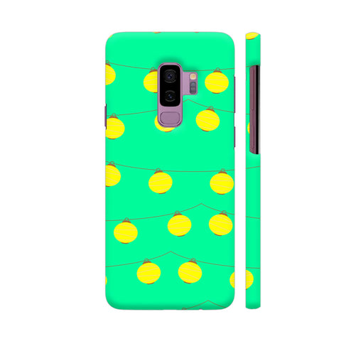 Yellow Lights Pattern Samsung S9+ Cover | Artist: Malls