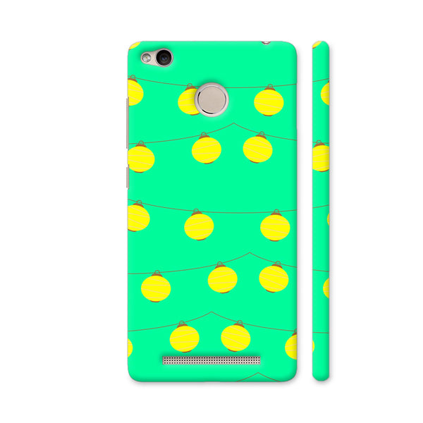 Yellow Lights Pattern Redmi 3S Prime Cover | Artist: Malls