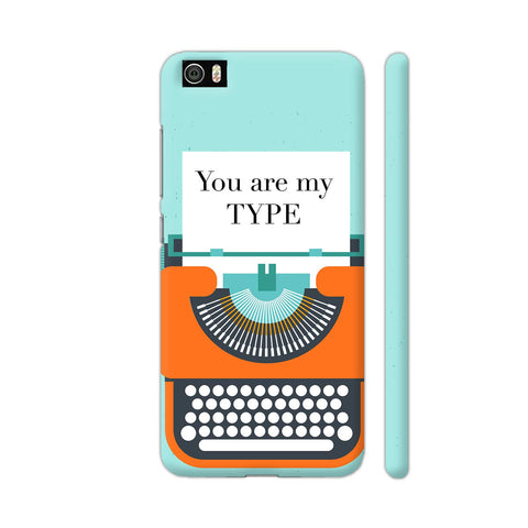 You Are My Type Typewriter Xiaomi Mi 5 Cover | Artist: Nehal