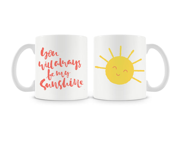 You Will Always Be My Sunshine Mug (Set of 2)