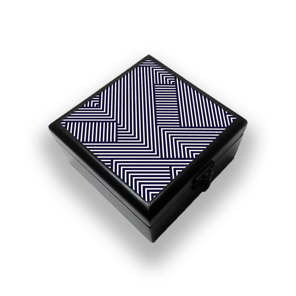 Zebra Lines Jewellery Box